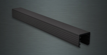 Aluminium U-Profile Edge Protection W profile C-Profile U Rail 50x50x65mm-2mm