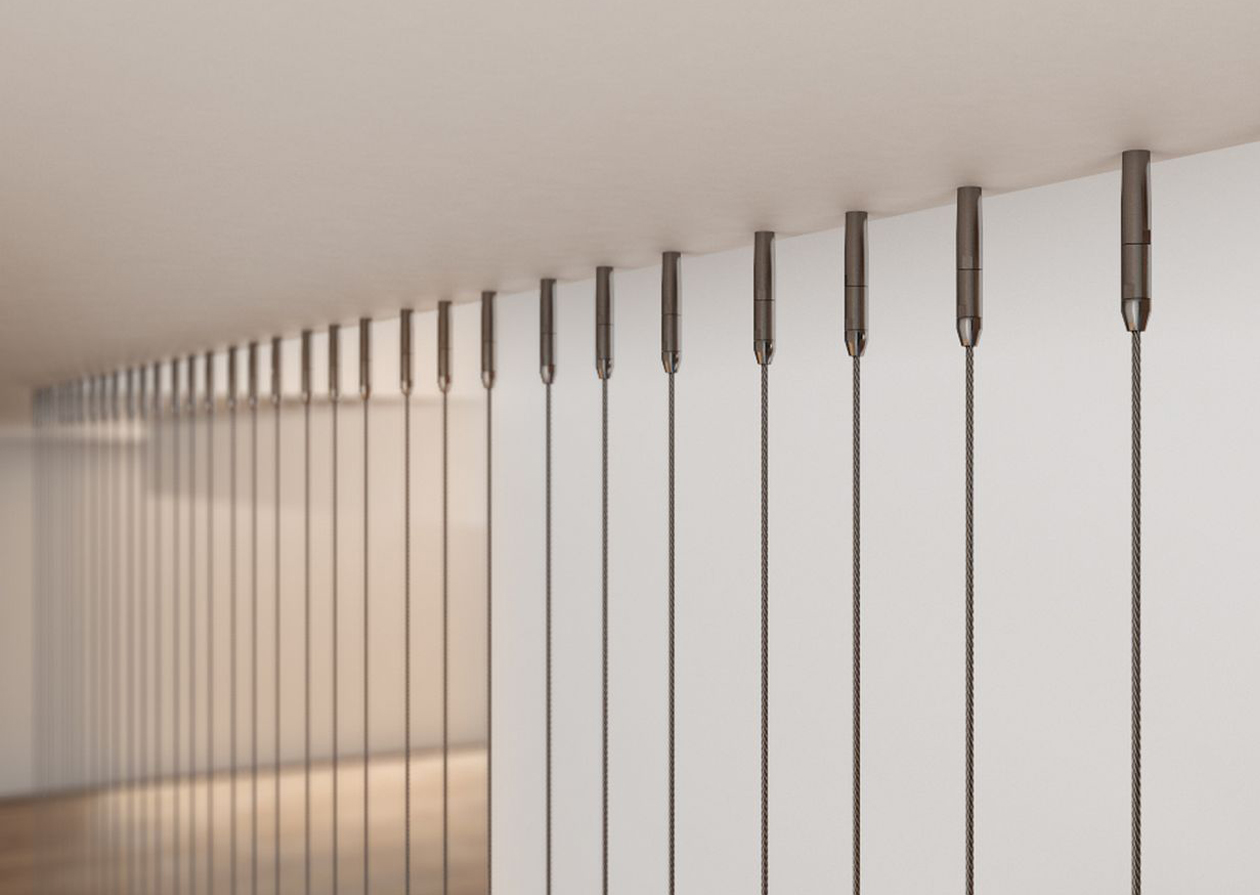 Vertical Wire Wall Wire Rope Balustrade Swr Balustrade