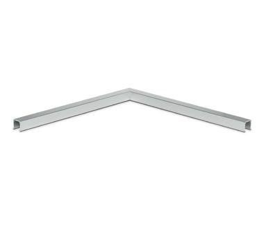 OnLevel Aluminium U-Profile Slotted Handrail Corner Connector | SWR