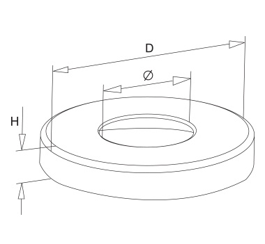 Satin Heavy Duty Base Plate Cover Diagram