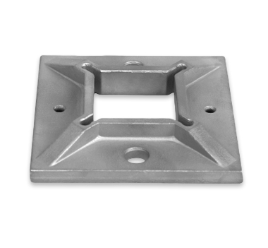 Square Base Plate Satin