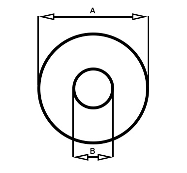 Curved Washer Diagram